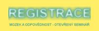 Registrace Mozek a odpovědnost seminář